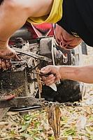 Reparation ensileuse